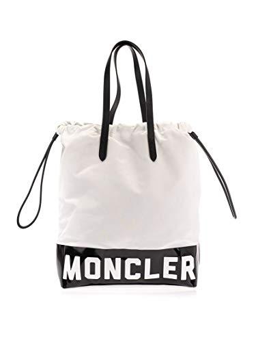 Moncler Luxury Fashion Donna 301620001AL3034 Bianco Poliestere Borsa Shopping | Autunno-inverno 19