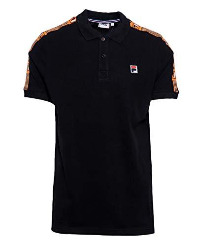 Fila Polo Herren Hagop Polo Shirt 687645 s schwarz