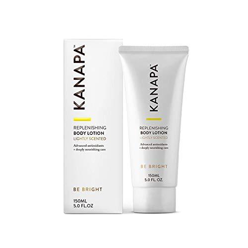 Kanapa by Xtend-Life Lozione per il corpo rigenerante per pelle secca (leggermente profumata) - Potenti antiossidanti e idratanti per una pelle radiosa, liscia e idratante a lunga durata, riduce i segni dell'invecchiamento - 150 ml