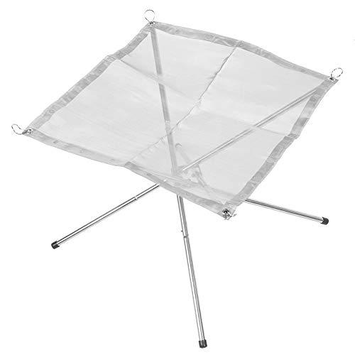 TAKE FANS, Portable desmontable plegable barbacoa leña estufa marco de fuego para senderismo al aire libre camping