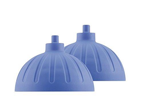 ISYbe Ersatzdeckel (Zwei Stück) (Mittelblau)
