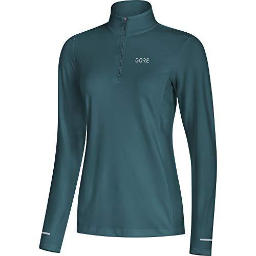 GORE WEAR R3 Damen Langarm Shirt, 38, petrol