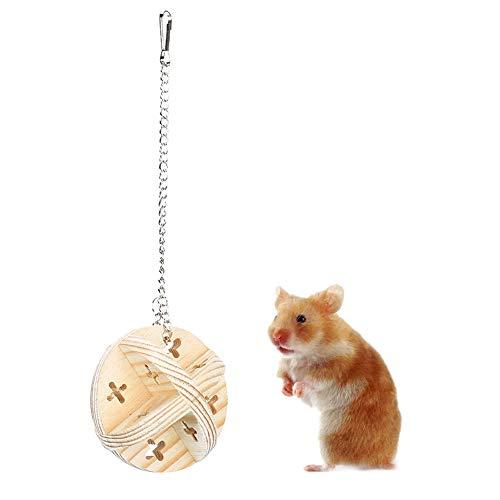 Jingyig Juguetes para Masticar hámster, aliviar el Estado de ánimo, Conveniente Juguete para hámster sin Efecto, para Mascotas