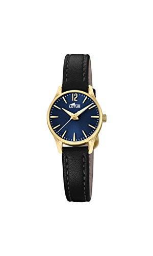 Lotus Watches Reloj Análogo clásico para Mujer de Cuarzo con Correa en Cuero 18574/3