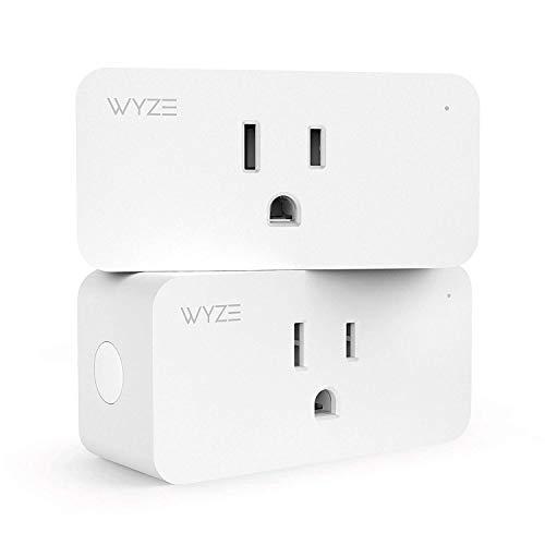 Wyze Plug, Compact WiFi Smart Plug, 15A, Works with Alexa and Google Assistant