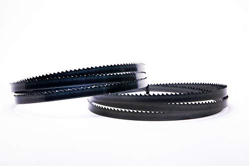Juego de 2 hojas de sierra de cinta Encut de alto rendimiento, 2240 x 16 x 0,65 mm, 4 ZpZ, para madera, etc. Para Elektra Beckum Metabo Güde