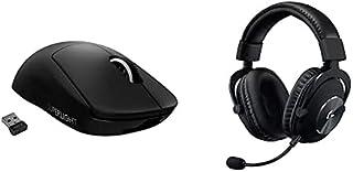 Logitech G Pro X Superlight Ratón Gaming Inalámbrico y Logitech G Pro X Auriculares Gaming con Cable y Micrófono