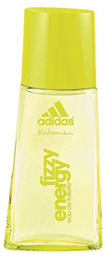 adidas Fizzy Energy Eau de Toilette – Blumiger & frischer Sommerduft für Damen – Langanhaltendes Parfüm für sportliche Frauen – 1 x 30 ml