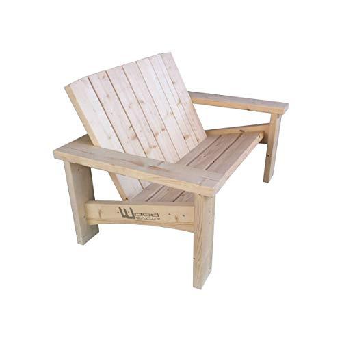 Wood Structure Banc Sapin XL pour Salon de Jardin