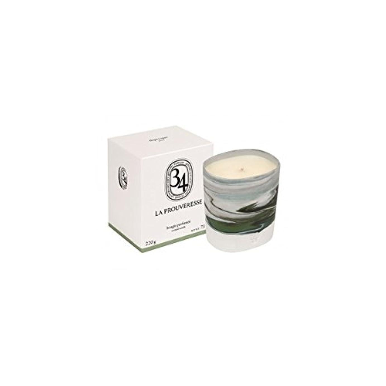 ハンバーガーパパメタンDiptyque Collection 34 La Prouveresse Scented Candle 220g (Pack of 2) - ラProuveresse Diptyqueコレクション34香りのキャンドル220グラム (x2) [並行輸入品]