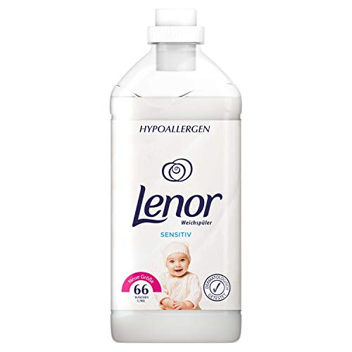 Lenor Weichspüler Sensitiv, 1980ML – 66 Waschladungen