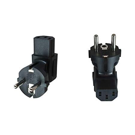 Power Adapter Yl 2113 Euro 2 Pin Male To 2 Female Euro Elektronik