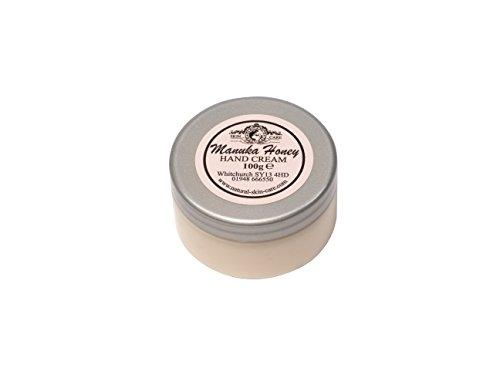 Crème Mains Miel de Manuka 100g. Fabriqué par Elegance Natural Skin Care en Grande-Bretagne
