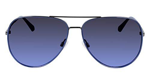Calvin Klein CKJ21214S Gafas, Gunmetal/Navy, 62/14/145 Unisex Adulto