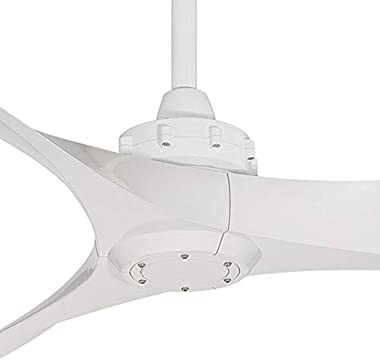 Minka-Aire F853-WH Aviation 60 Inch Ceiling Fan with DC Motor in White Finish