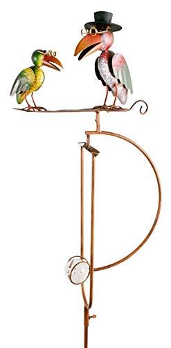 Pommerntraum ® | Vogelwippe | Gartenpendel | Windspiel | Gartenstecker | Gartendekoration | Gartenkunst | Metall | Prof. Dr. Rabe + Sein Sohn