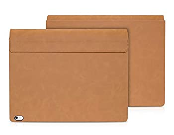 Surface Book 3 2 Case Detachable Flip Cover Folio for 13.5 Inch Microsoft Surface Book 3/ 2  Intel i7  PU Leather Brown