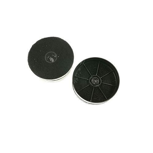 MarelShop®-Kit 2 PZ filtri in carbone cappa per Faber diametro 125mm H 41mm compatibili