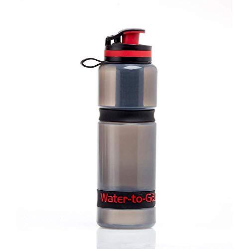 Water To Go Wasserfilterflasche mit 3-in-1-Filtertechnologie, 75 cl