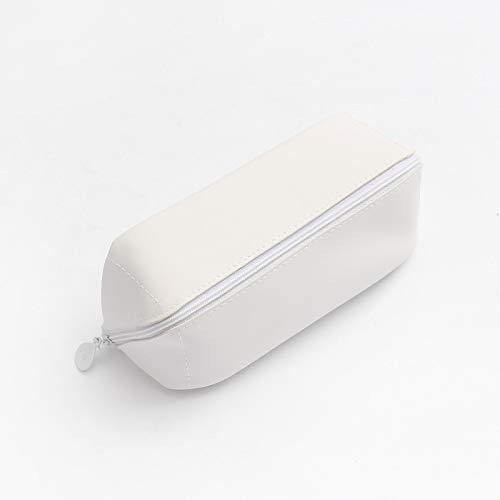 Wagrass Estuche grande cartucheras para lapices escolares estuche cortex suministros escolares astuccio trousse scolaire stylo piurnik (color: blanco)