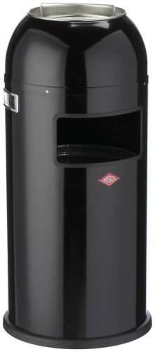 Wesco 186 631-62 Poubelle Ashmaster (Noir)