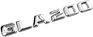 PT Decors GLA200 Emblem Aufkleber Abzeichen für Auto Auto LKW Kotflügel Stoßstange Kofferraum Kofferraum Aufkleber