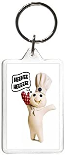 Pillsbury Doughboy Keychain Movie Television Key Tag