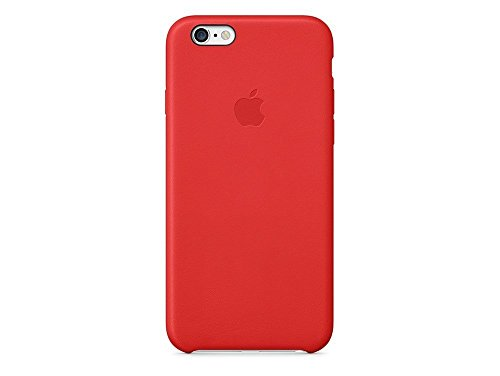 Apple MGR82ZM/A Coque en cuir pour iPhone 6 Rouge Vif