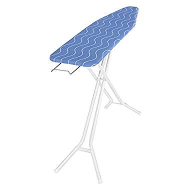 Whitmor 4-Leg Steel Top Ironing Board with Cover and Pad