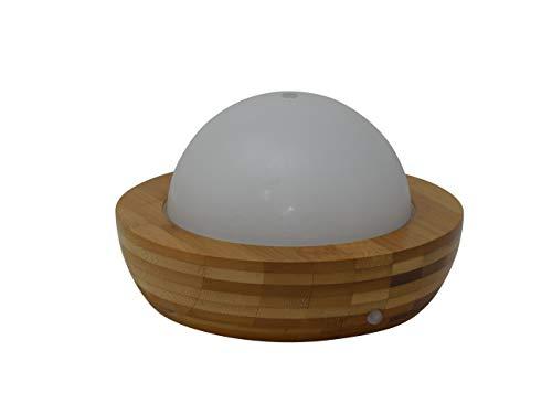Weiva Feng Shui Bambus Wasserspiel mit Multicolor Beleuchtung und Ultraschall Nebler/Luftbefeuchter 303