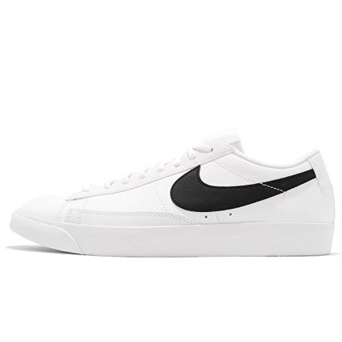 Nike Blazer Low Lthr, Zapatillas para Hombre, Multicolor (White/Black/White/Black 001), 40 EU