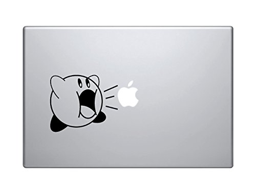 Price comparison product image Kirby MacBook Pro Vinyl Decal Sticker (Available for 11,  13,  15,  17 inch and Air)