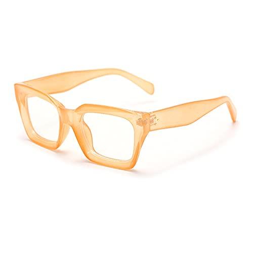 Einzigartig Sonnenbrille Sunglasses Quadratische Optische Brillenrahmen Frauen Luxusrahmen Brillen Frauen Klassische Dam