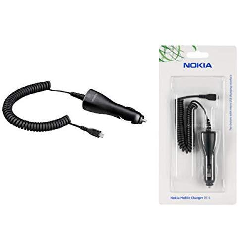 Caricabatteria da auto, Car charger cable per Nokia 6500 CLASSIC, 6600 SLIDE, 7900 PRISM, 8600 LUNA,