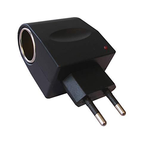 H21CS 6 Watt Spannungswandler Ladegerät AC DC 230V / 12V 500 mA Ladegerät Zigarettenanzünder Steckdose Adapter mit Stecker Spannungsumwandler