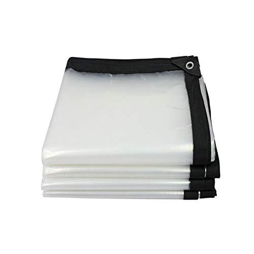 Lona Impermeable Resistente Transparente Grueso Lámina de plástico Balcón Ventana carnosa Impermeable Pañal Impermeable Película Película Verde Revestimientos de Suelo para Camping, Pesca, jardinería