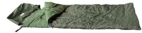 Commando Industries Pilote Sac de Couchage Camping en Plein Air 200 * 75cm en Différentes Couleurs (Olive)