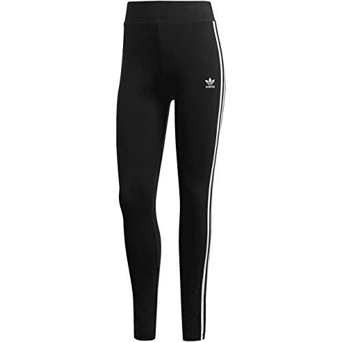 Adidas - Mallas con 3 rayas blanco/negro 8 años