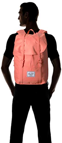 Herschel Retreat Backpack, Fresh Salmon, Mid-Volume 14.0L