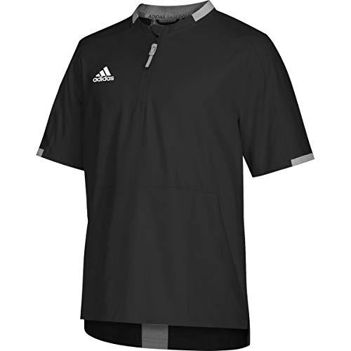 adidas Fielders Choice 2.0 Cage Jacket - Men's Baseball XXL Black/Core Heather