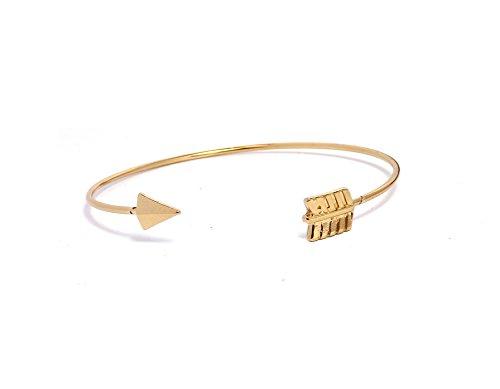 Remi Bijou Armband Armreif 'Bangle' Pfeile Gold Farbe