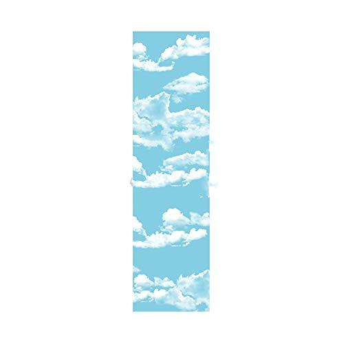 WATPET Monopatín Papel de Lija de monopatín, 23x84cm o 122x26cm Papel de Lija de monopatín, Plataforma gráfica Colorida Protectora, Impermeable y Antideslizante. diseños (Color : H, Size : 23x84cm)