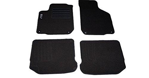 carmats Compatibles avec tapis de sol Golf 4 en moquette, 4 pièces