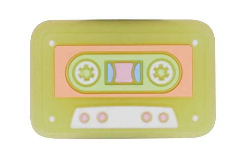 Crocs Unisex's Symbols Shoe Charms | Personalize Jibbitz, Casette Tape, One Size