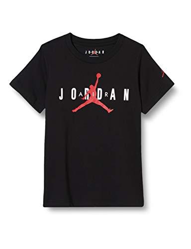 NIKE Brand tee 5 - Camiseta para niño, Niños, Camiseta, 955175, Negro, 8-10Y