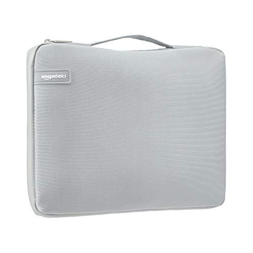 """Amazon Basics - sleeve professionale per laptop da 13"""" (con manico retrattile), grigio"""