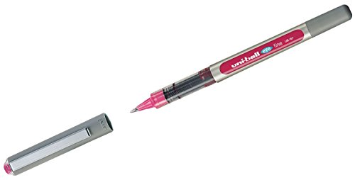 Uni-Ball 718214 - Bolígrafo de tinta líquida, 0.7 mm, color rosa