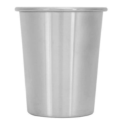 BIKING Taza de Bebida, Taza de Agua portátil Antideslizante 304 de Acero Inoxidable Cerveza Taza de Vino Vasos para Uso doméstico(230ml)