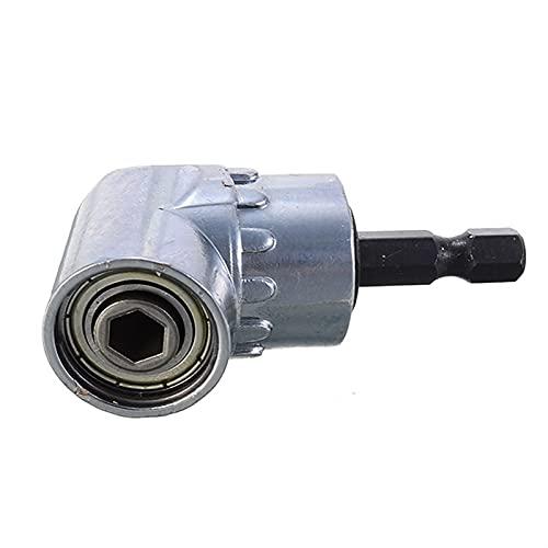 X-BAOFU, 1pc 105 Grados de ángulo de 1/4' extensión Hexagonal Broca de Destornillador Soporte del Adaptador Ajustable bits boquillas for inclinar el Tubo de Destornillador