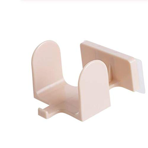 Ellepigy - Estante para zapatos de baño, para colgar en la pared, zapatero, beige